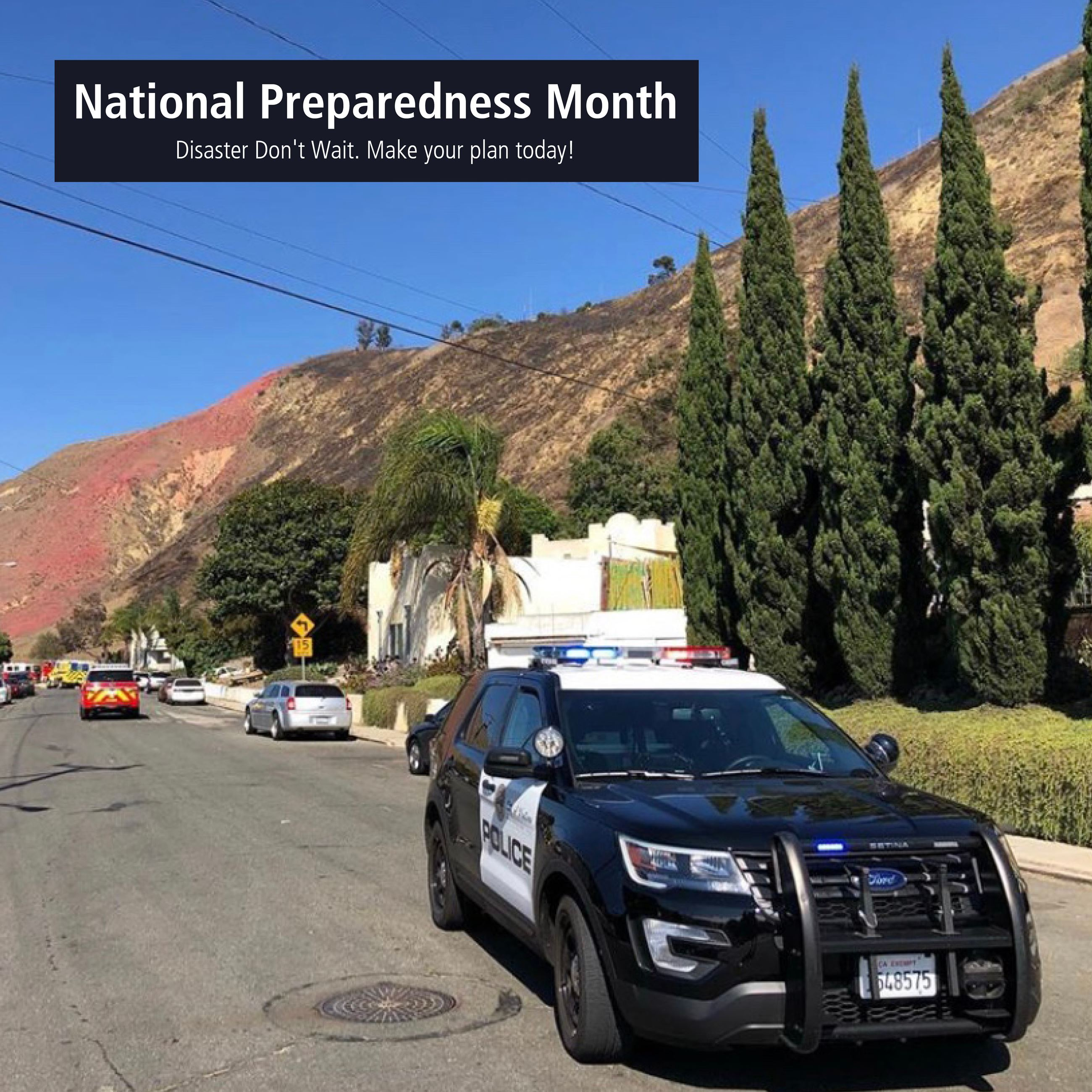 National Preparedness Month Opens in new window
