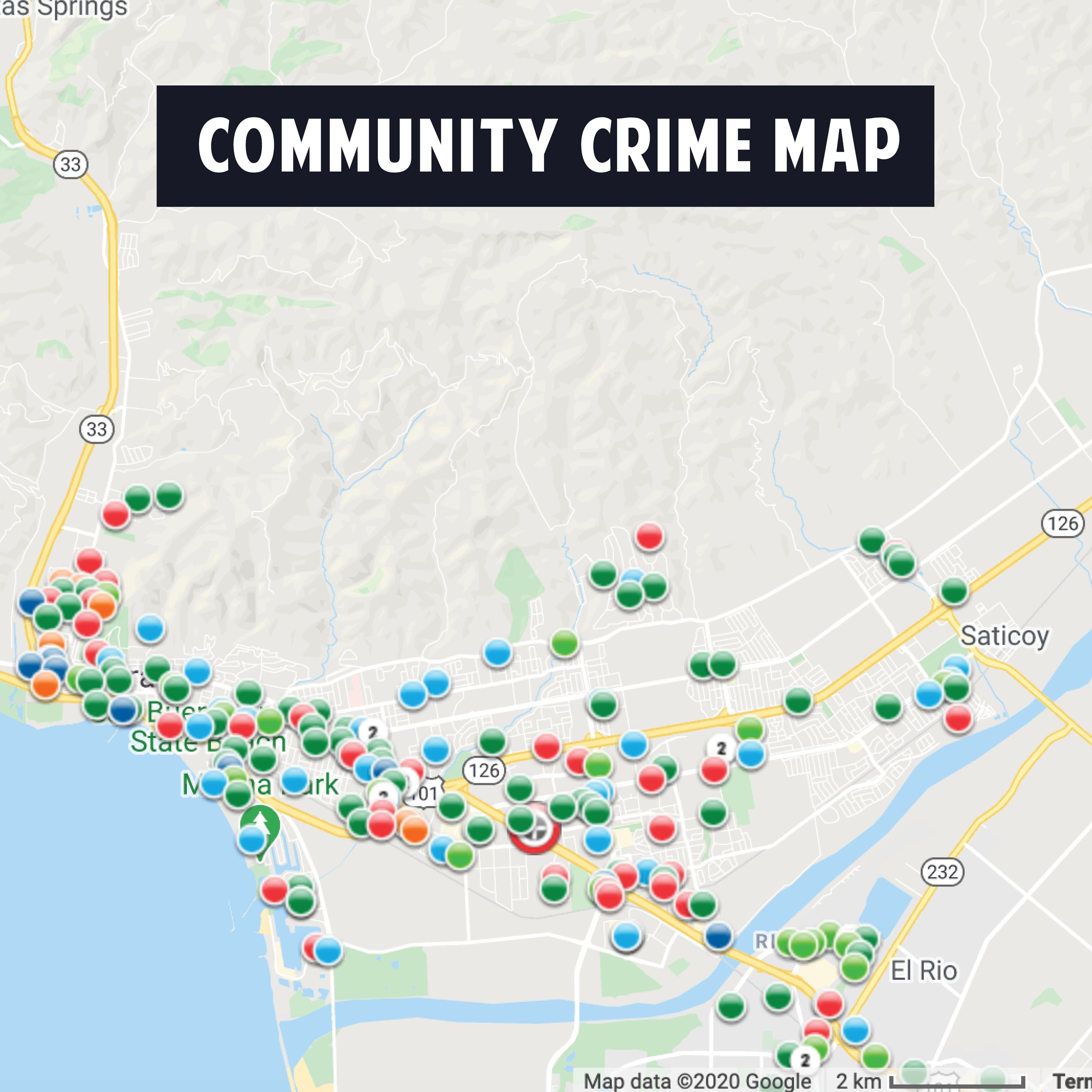 Community Crime Map Opens in new window